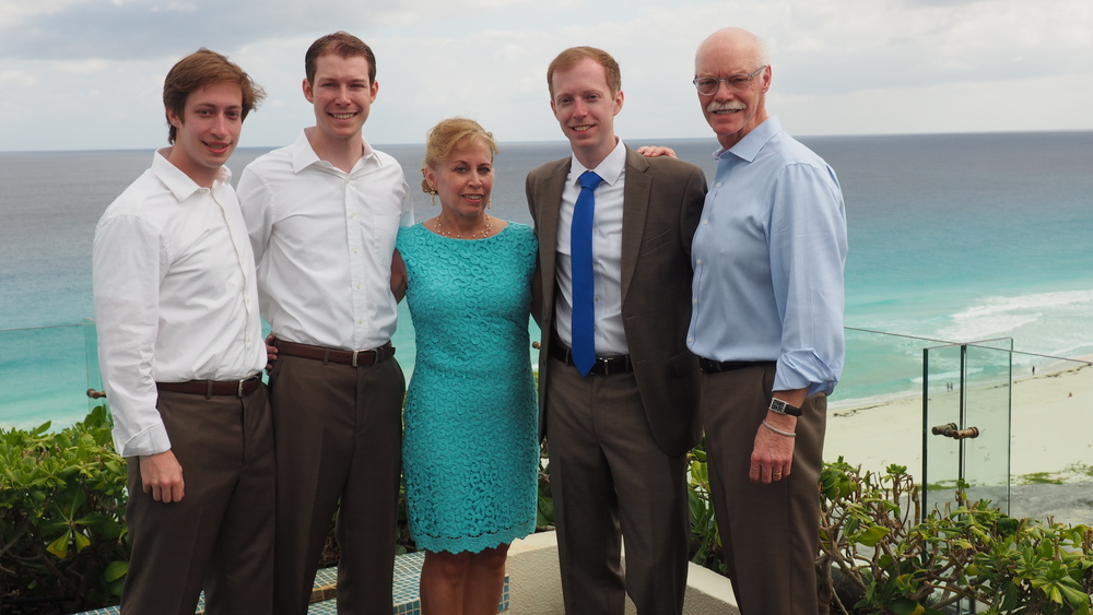 Mary and the Eilers men folk