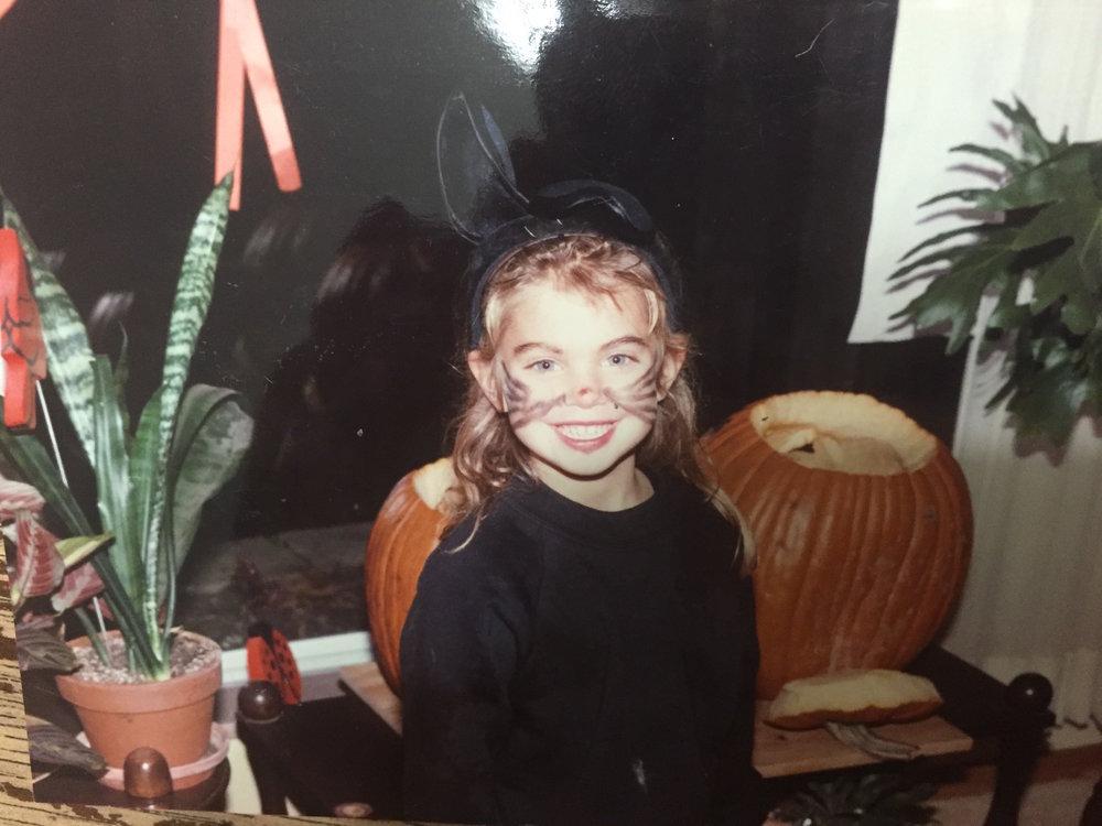 Ms. Melinda as a little cat