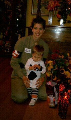 And, Ms. Melinda as Nathan's ghost buster!