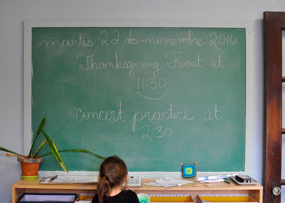 Happy Thanksgiving from Villa di Maria! – Villa di Maria Montessori ...
