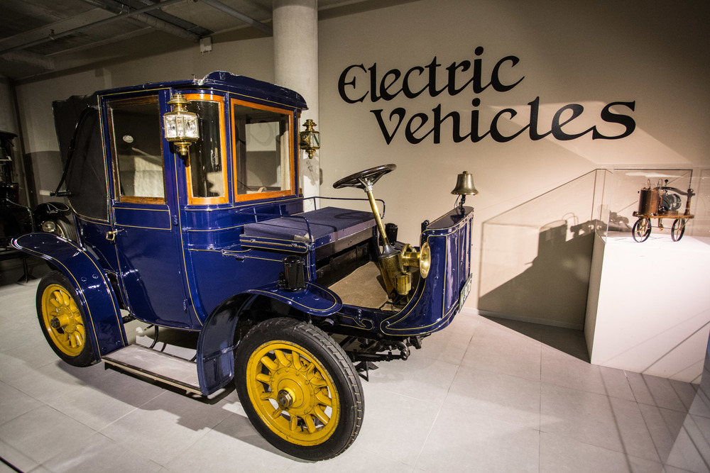 1905's Electric car