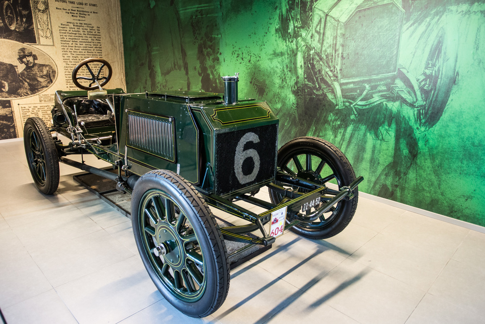 Napier 100HP Gordon Bennett racing car (1903)