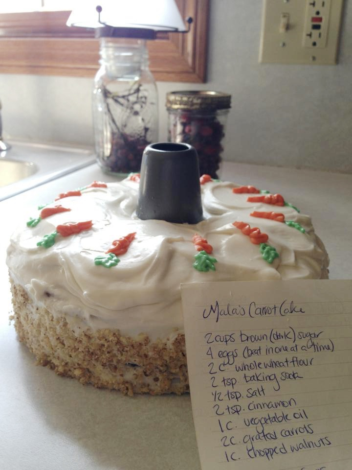 Sweet Spring Recipes | Carrot Cake | loveshyla.com