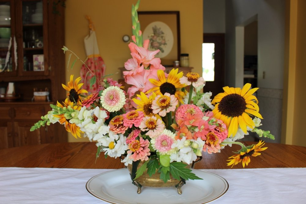 Coral Sunflower Bouquet | Loveshyla.com