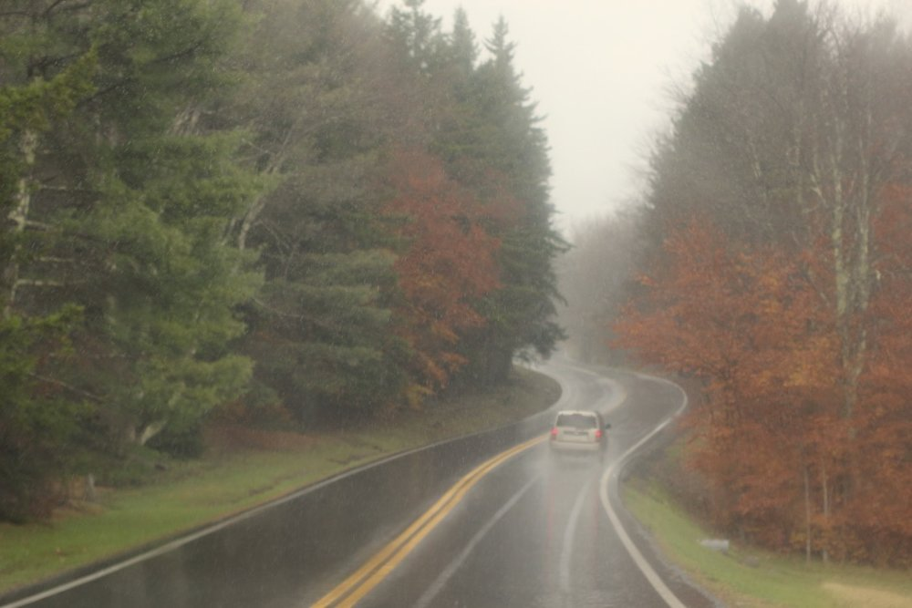 Mountain Getaway | Canaan Valley, WV | Rainy Autumn | Loveshyla.com