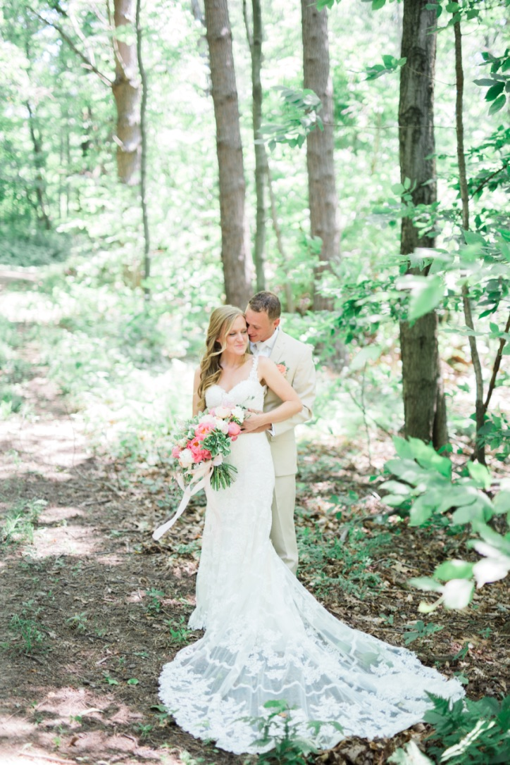 Our Wedding | Spring, June, whimsical, meadow, blush, pink, coral, soft green, ivory, romantic, barn, gold, classic, bridals | Loveshyla.com