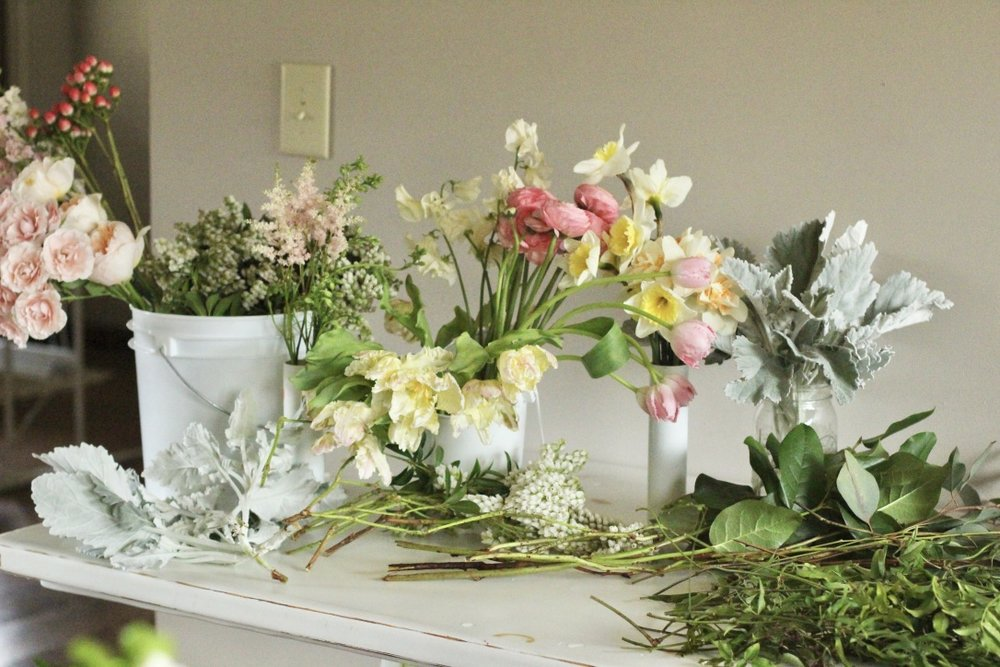 Spring Bridal Bouquet Demo | How to Make A Bouquet for A Wedding | By: Love Shyla