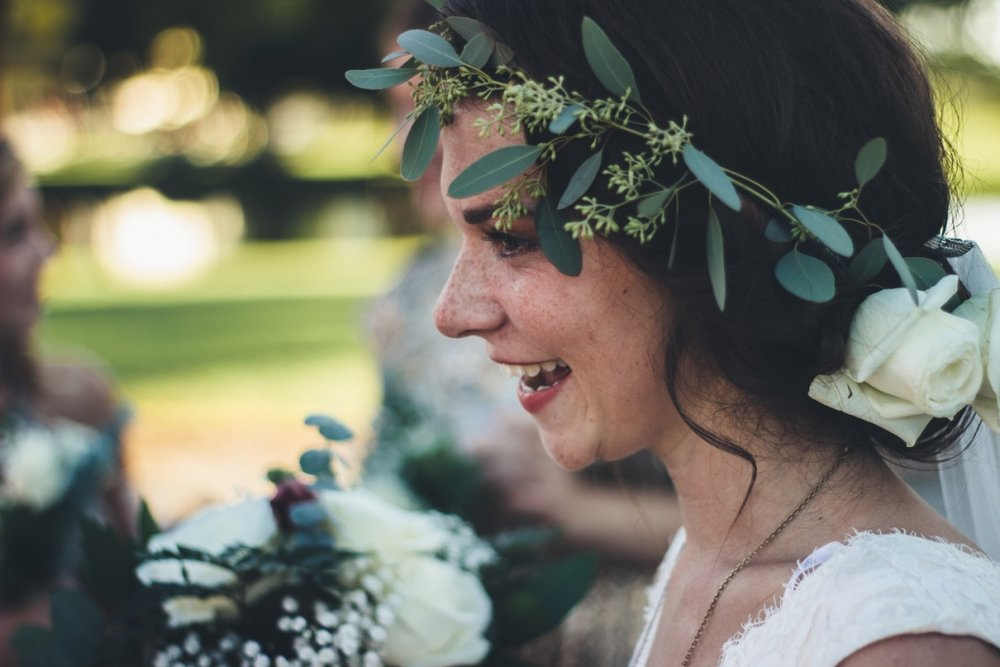 Josh & Hannah Indie Wedding Flowers by Love Shyla