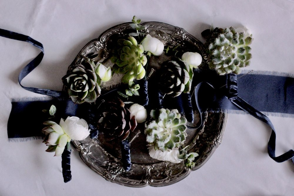 Wooded Succulent Wedding | Natural, wild floral design | Loveshyla.com