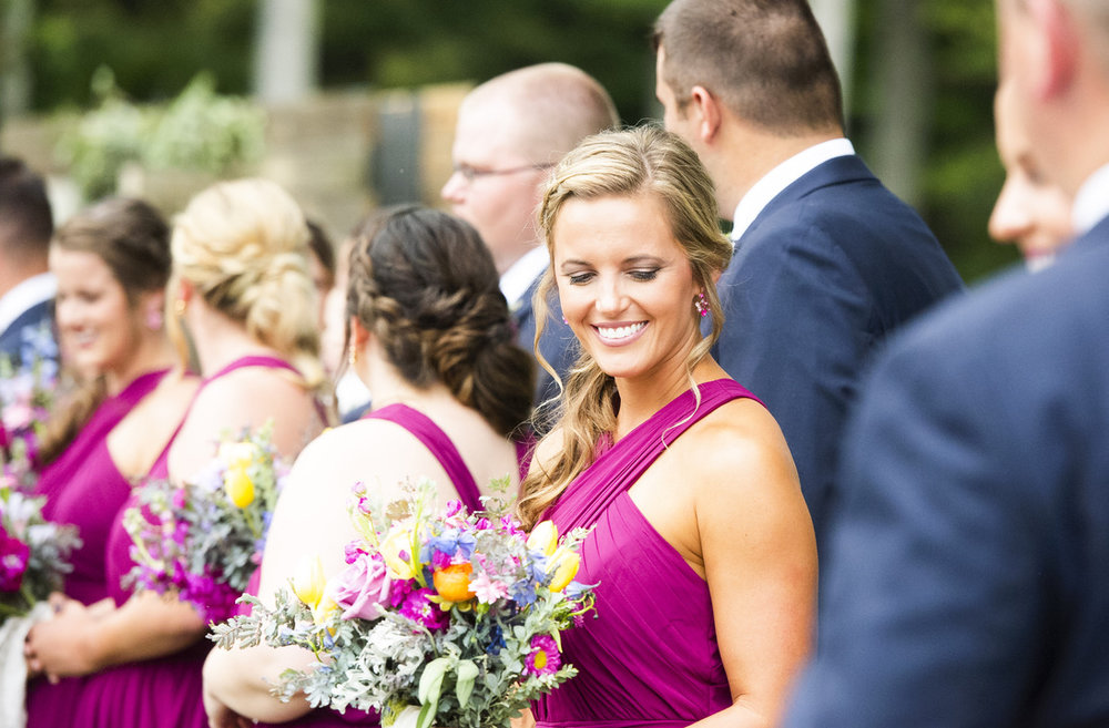 Vibrant Jewel-Toned Wedding | Orchid, Fuchsia, Magenta, Pink, Blue, Yellow, Orange | Floral Design by Loveshyla.com