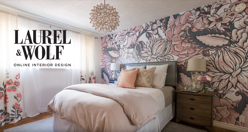 Landlord-Friendly Bedroom Makeover   Commissioned Project for Laurel & Wolf.  Edited by Dustin Walker