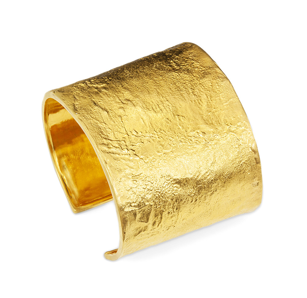 18k yellow gold Beatrice Cuff