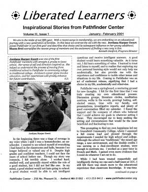 JANUARY/FEBRUARY 2001
