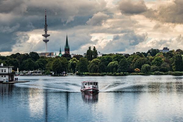 Hamburg Lake Alster