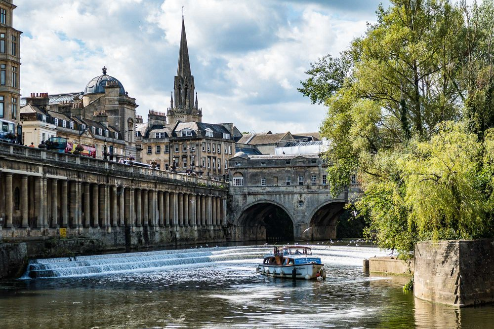 River Avon & Pulteney Bridge