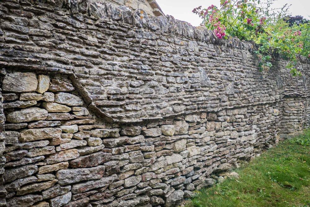 Stone Wall Castle Combe