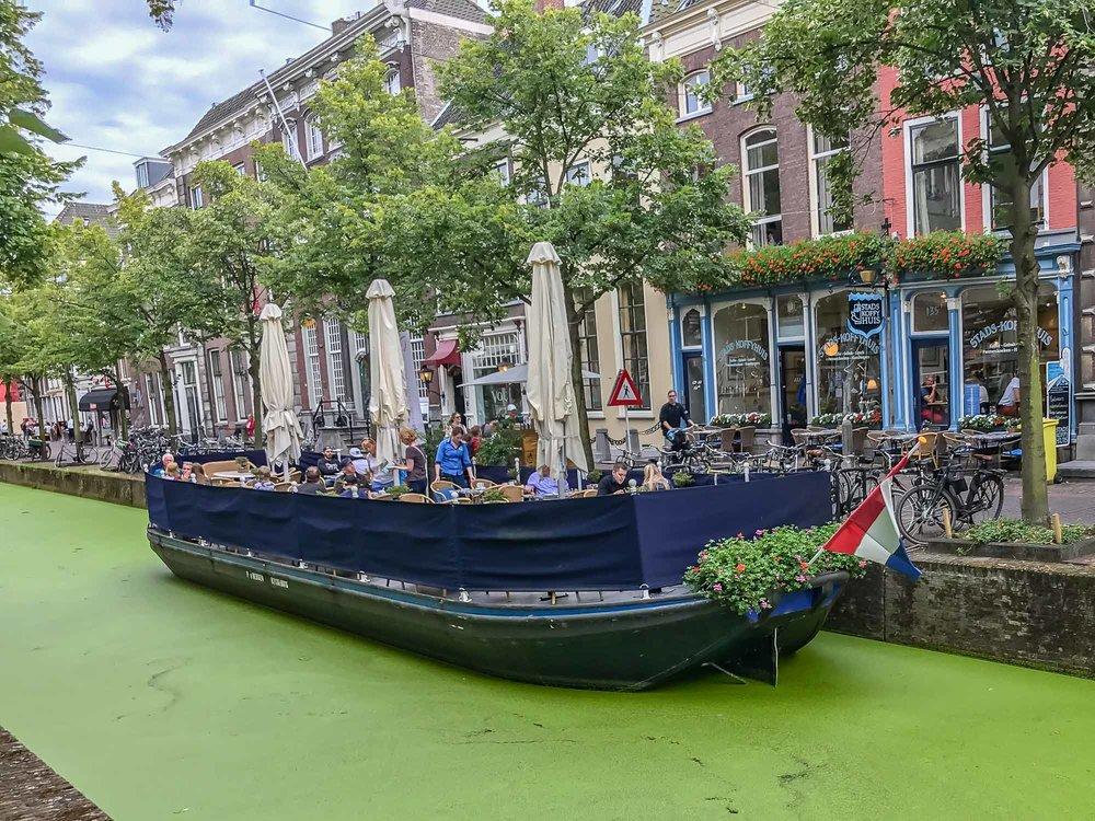 Canal Restaurant - Delft