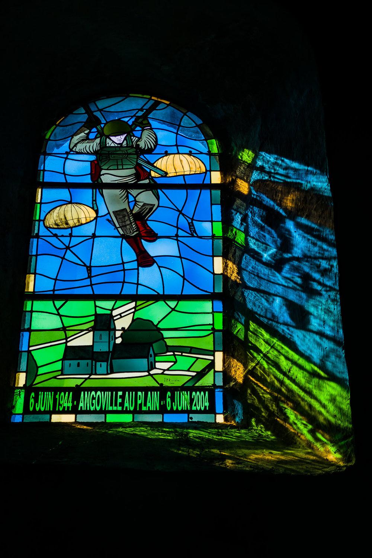 Church Window Angoville-au-Plain