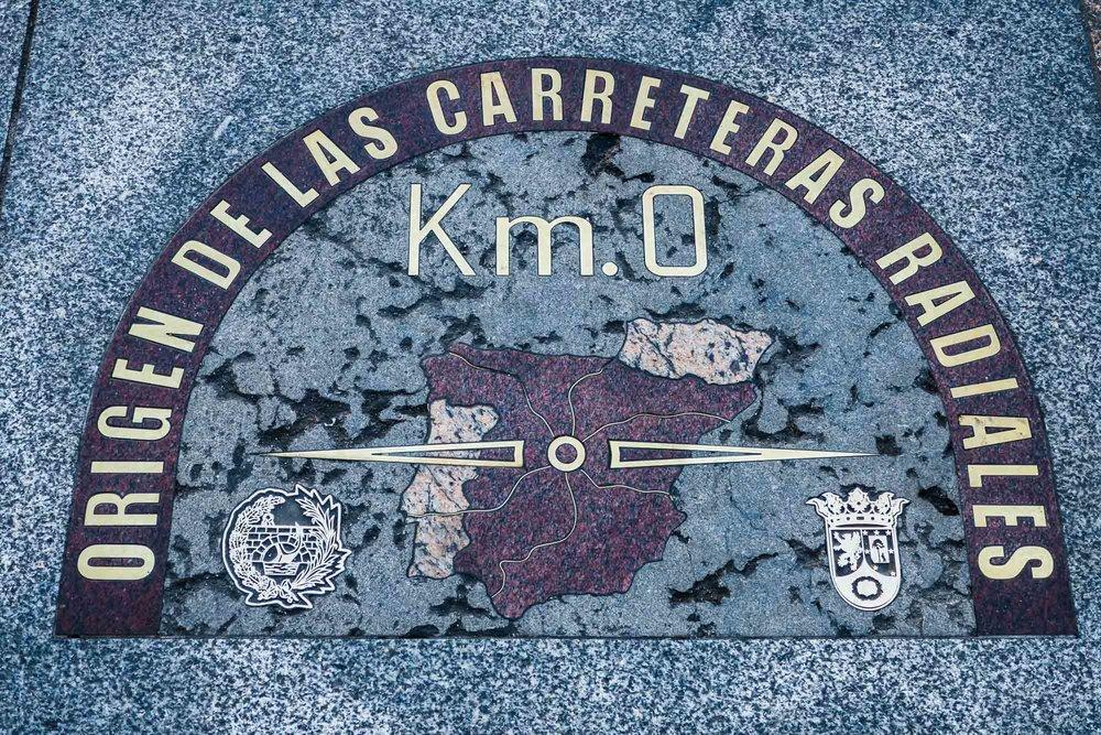 Kilometer 0 - Puerta Del Sol