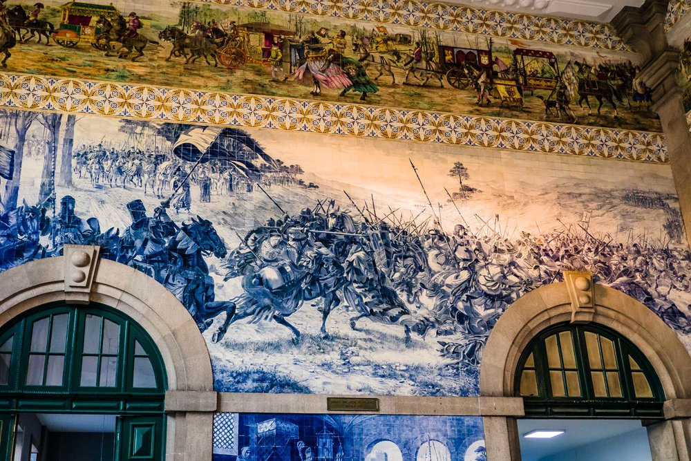 Tiles in Train Station
