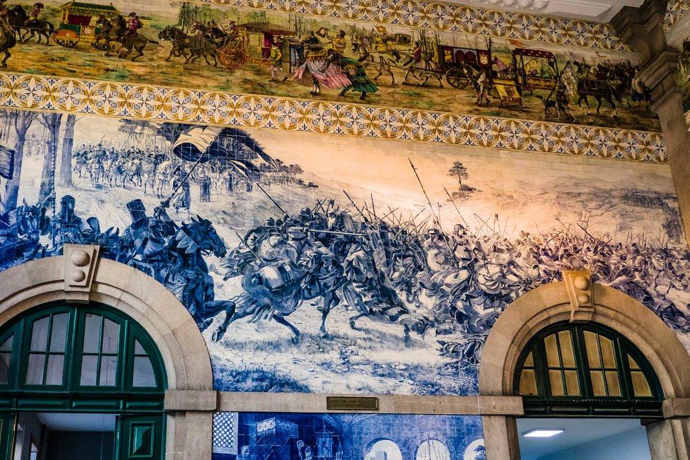 Tiles in Train Station