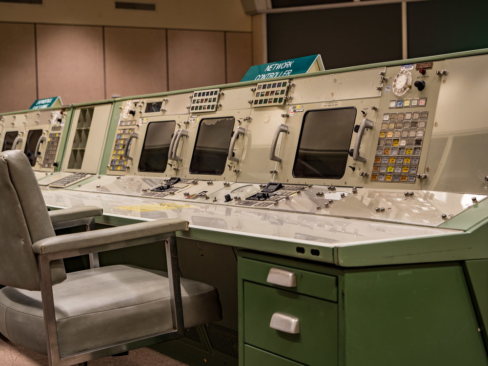 Historic Apollo Mission Control