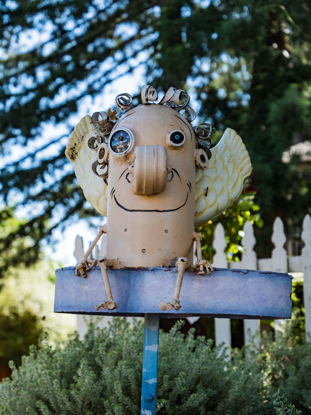 Sebastapol Garden Art