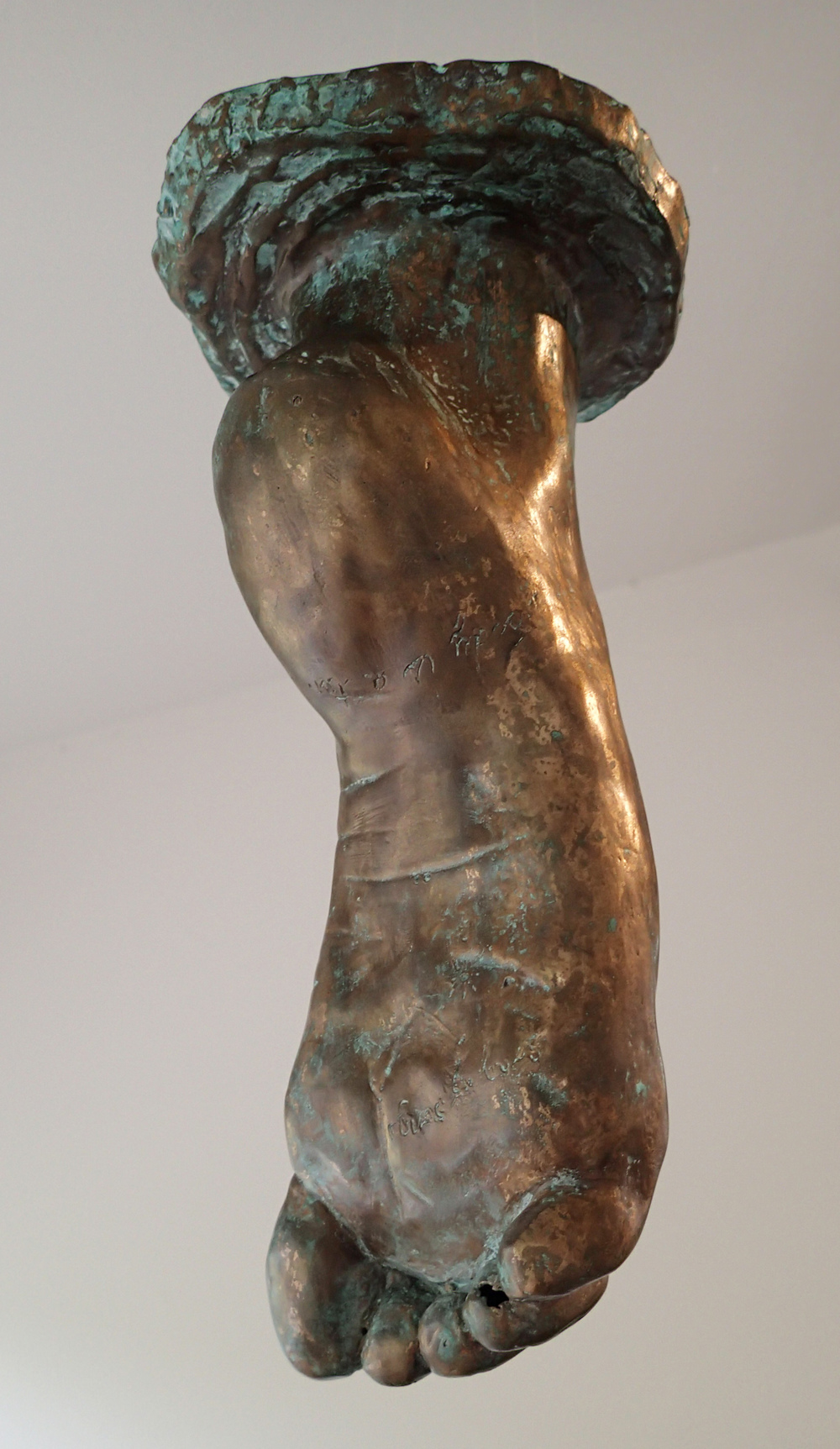 Fragmentation III, purification,  2014, Bronze