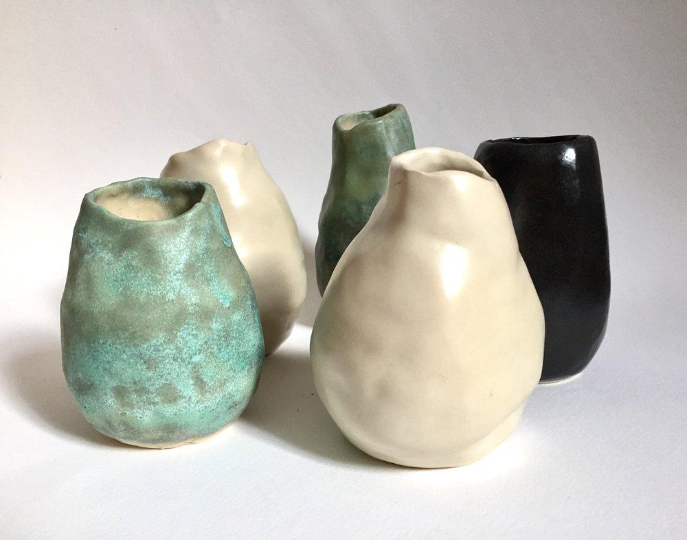 Small Hand Built Coil Pots