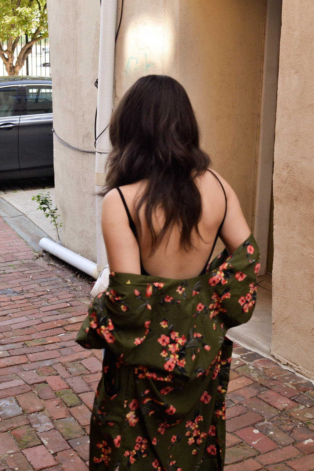 Forever 21 backless bodysuit