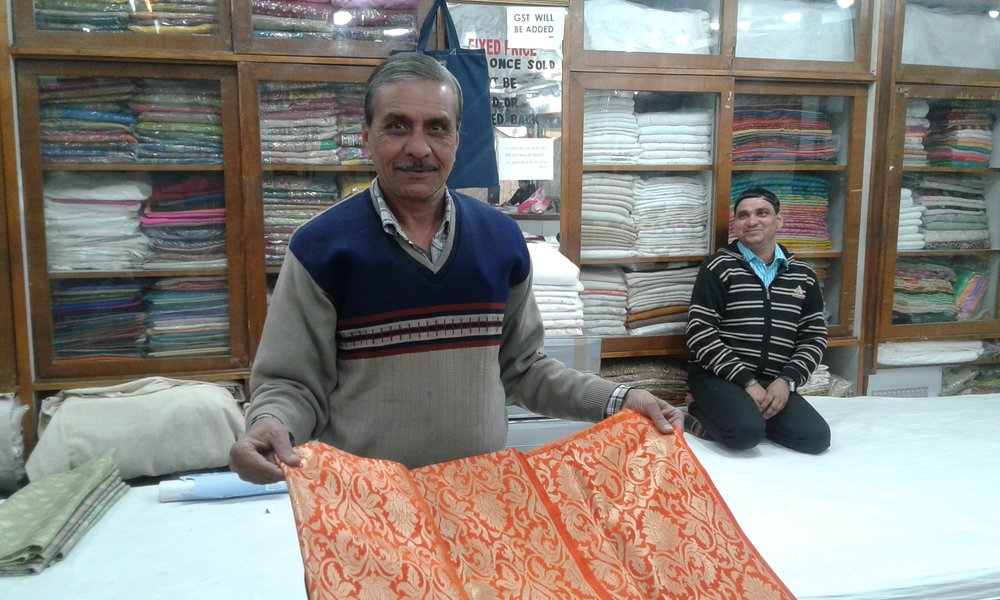 Touring a fabric maufaturing company in Bathinda, Punjab with Stay on Skill