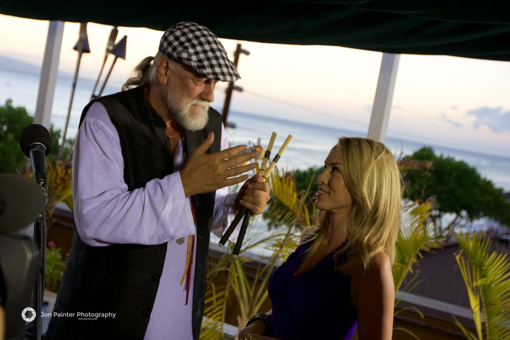 Mick Fleetwood and Lauren Thompson - Destination Golf: Ka'anapali