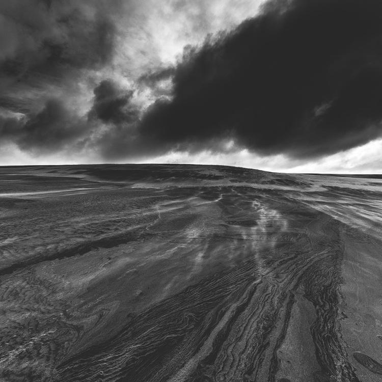 Tepaki sand dunes northland new zealand black and