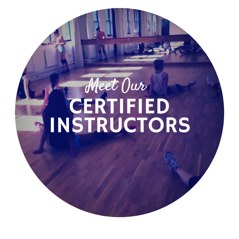 meet our certified instructors
