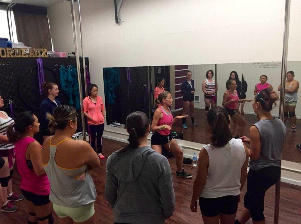 Booty Dance Workshop Seattle August 2016