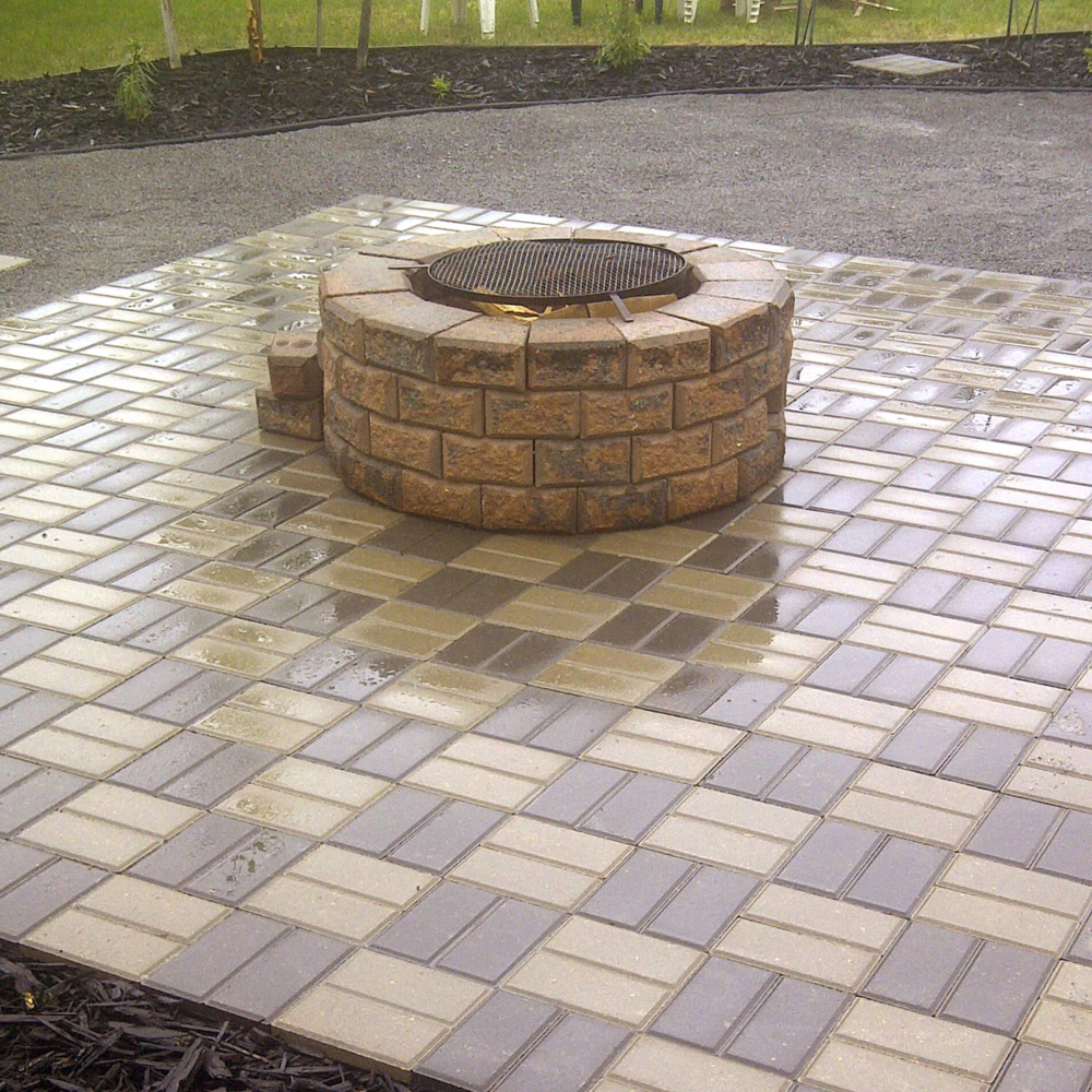 Paving Stone Installation