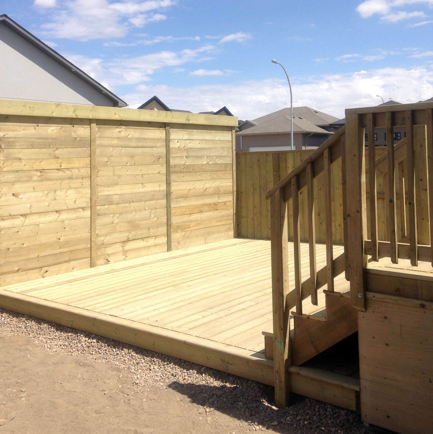 Deck & Patio Contractors Saskatoon | Ground Up Landscaping