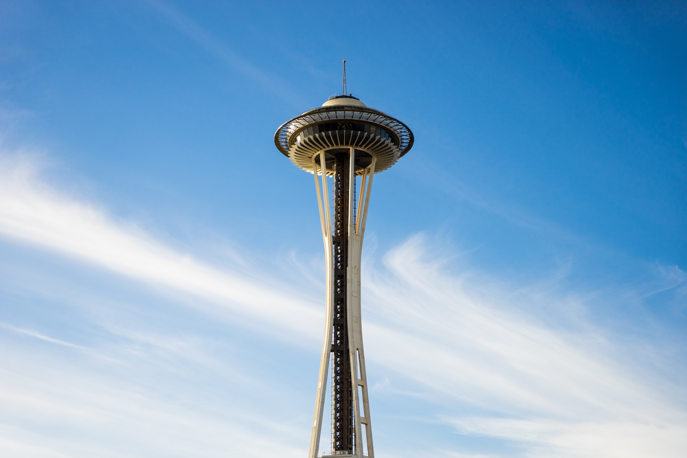 Of all the times I've been to Seattle, this was my first visit to the Space Needle.