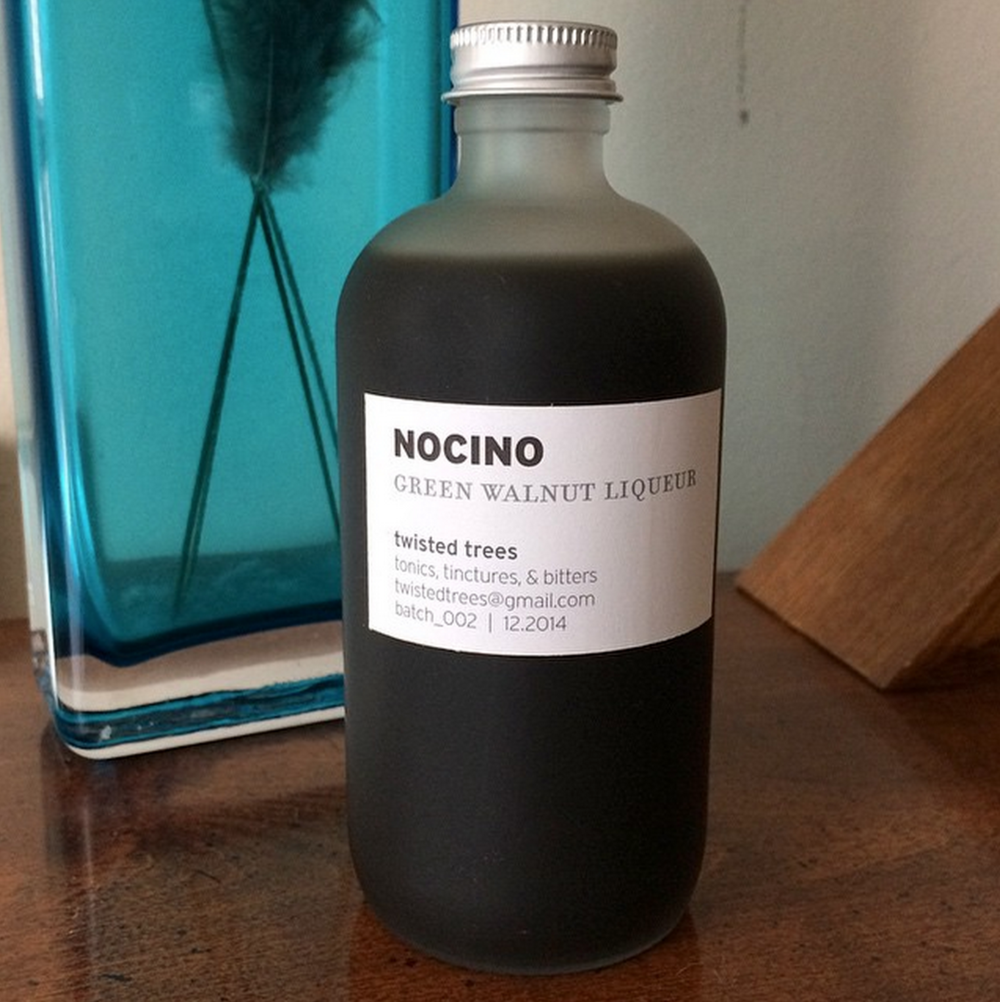 Nocino Bottled