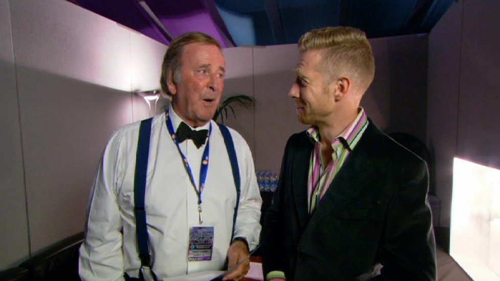 Interviewing Sir Terry Wogan