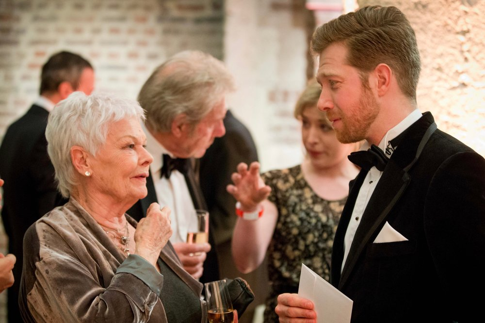 Hosting Charity Gala with Dame Judi Dench