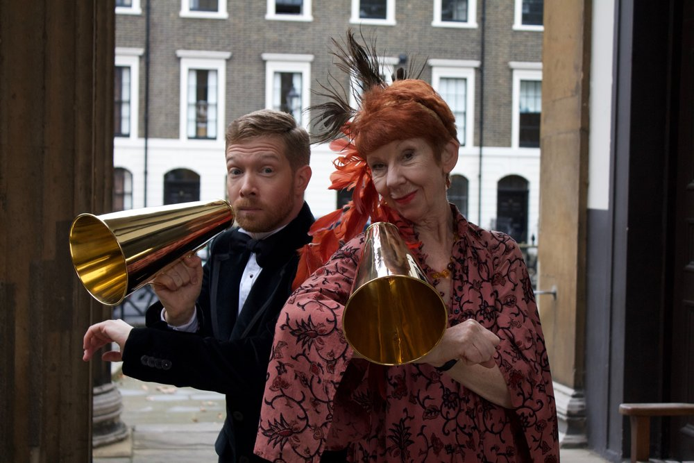 Zeb Soanes and Carole Boyd.  Photo © Michael Bodie