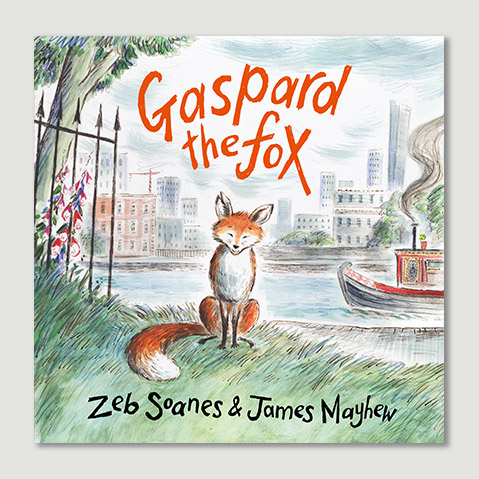 Click to buy Gaspard the Fox, £12.99 (HB)