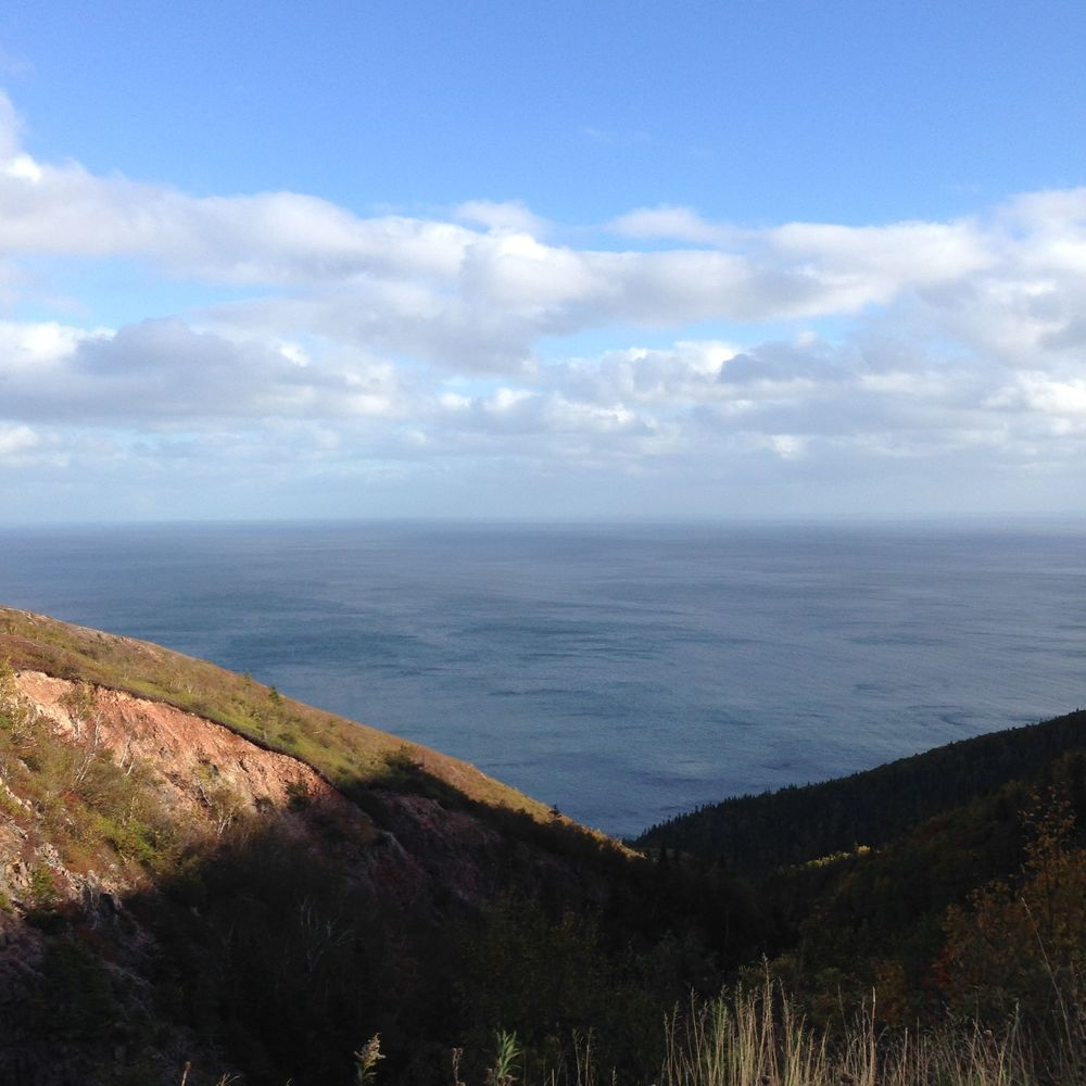 Same Cabot Trail trip from a few weeks ago, this is from the top of Smokey Mountain.