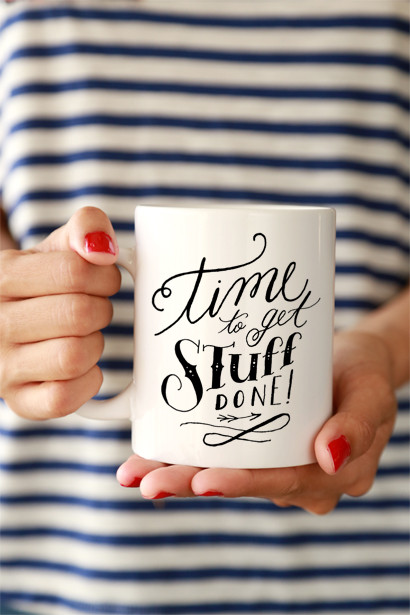 Stuff Done Mug by Click and Blossom/ClickandBlossom.com - $16