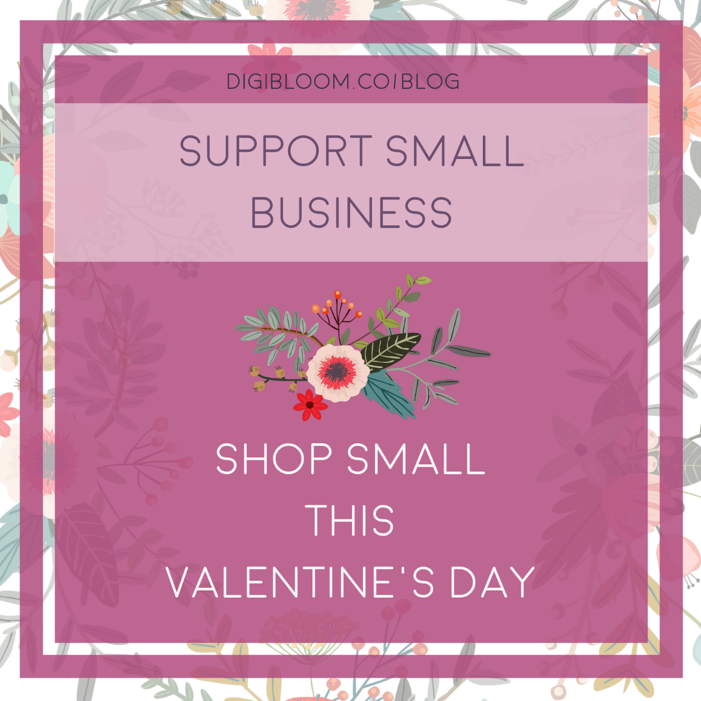Buy gifts from and support small businesses for Valentine's Day 2016