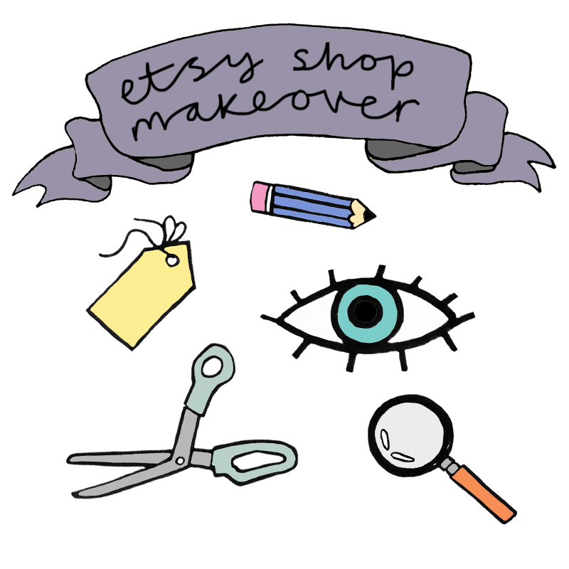 Etsy Shop Makeover package by Heidi Burton at Digibloom