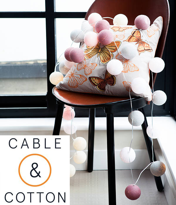 String lights by Cable and Cotton
