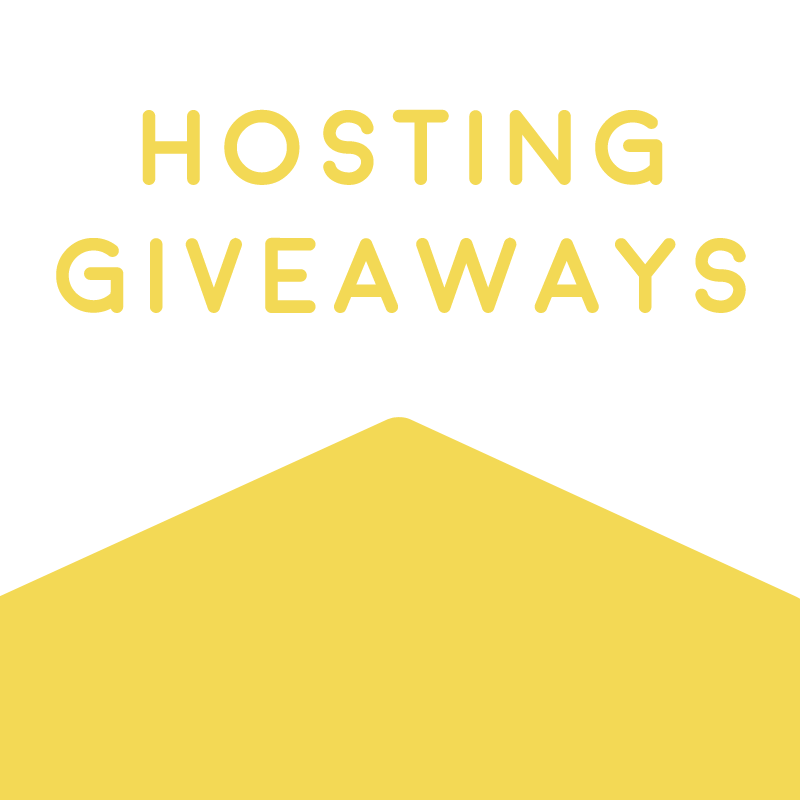 Hosting Giveaways