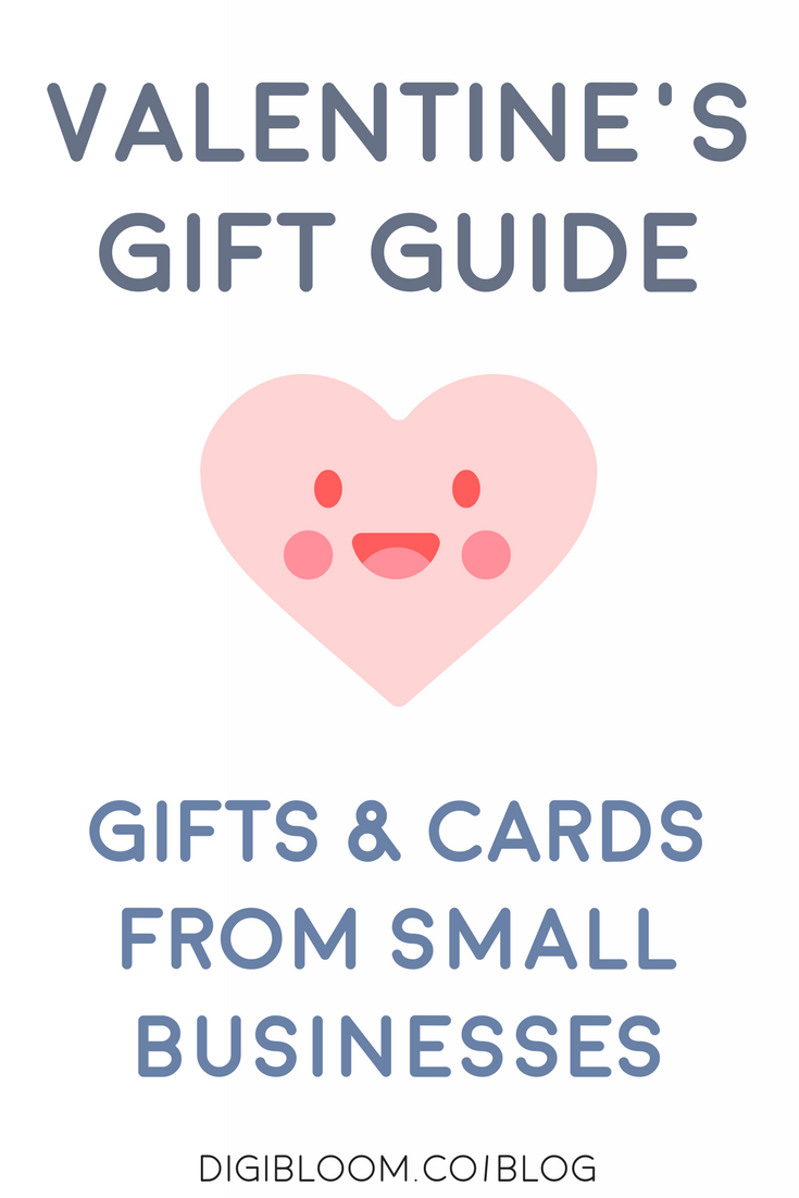 Valentines gift guide 2017 gifts and cards from small creative – Small Valentine Cards